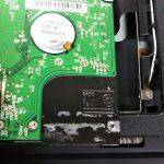 ハードディスクのないパソコンを修理しました。