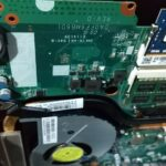 ノートパソコンのCmos電池の交換 part2