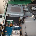 一体型パソコンのDVDドライブを交換しました。