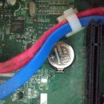 デスクトップPCのCMOS電池交換の方法